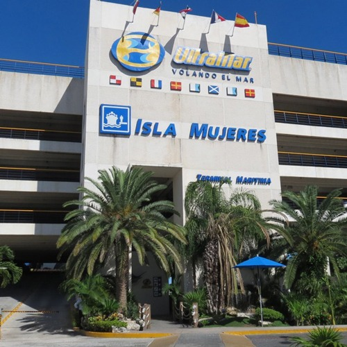 Ultramar Terminals to go from cancun to isla mujeres