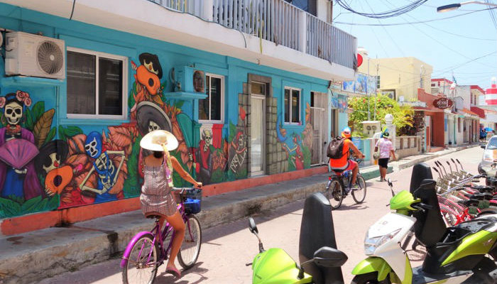 isla mujeres downtown