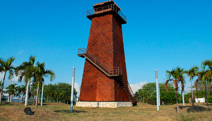 Control Tower Monument Cancun