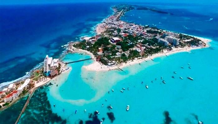 The best beaches in Isla Mujeres